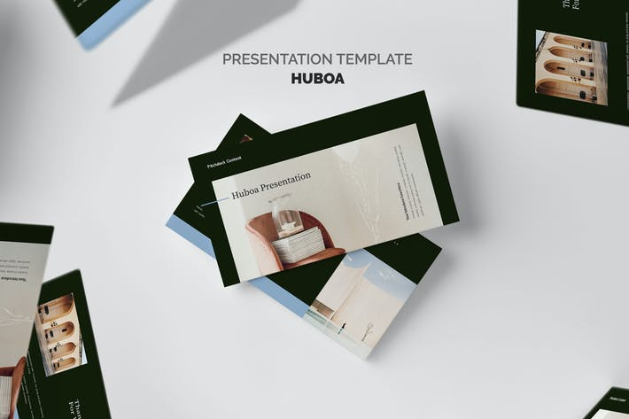 Thumbnail for Huboa : Craft Business Pitch Deck Google Slides