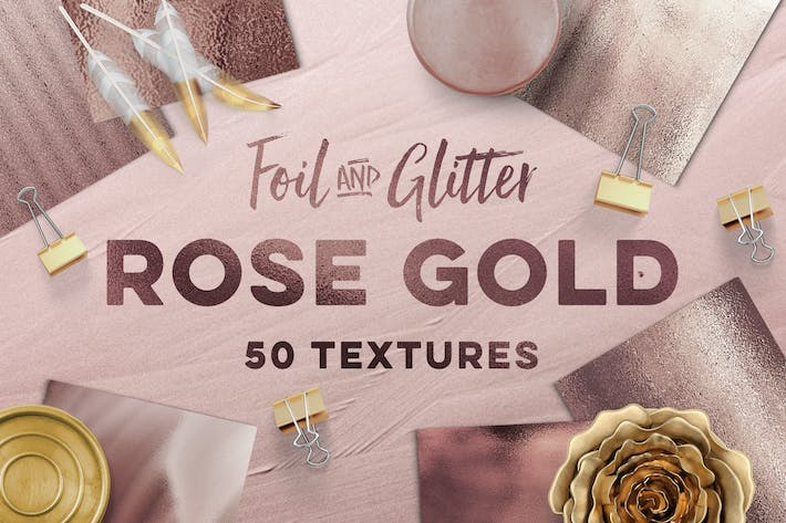 Thumbnail for 50 Rose Gold Textures