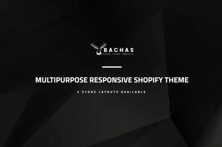 Thumbnail for Bachas - Sectioned Multipurpose Shopify Theme