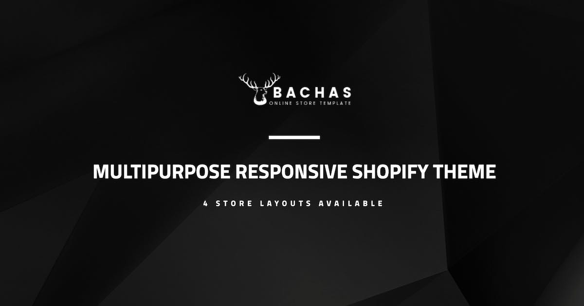 Download Bachas - Sectioned Multipurpose Shopify Theme by masstechnologist