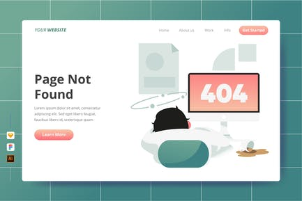 Page Not Found - Landing Page