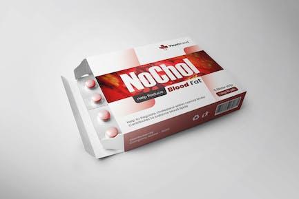 Cholesterol Cure Packaging Design