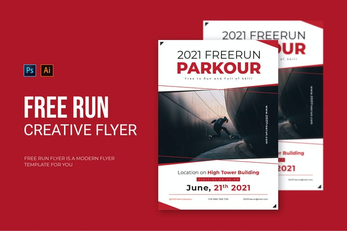 Free Run - Flyer