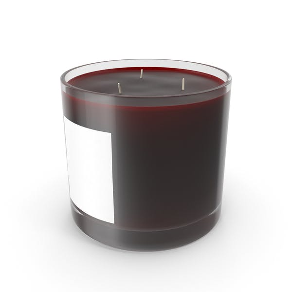 Scented Candle Big Glass Cherry