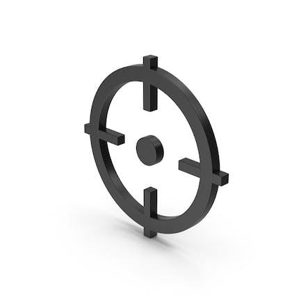 Symbol Aim Black