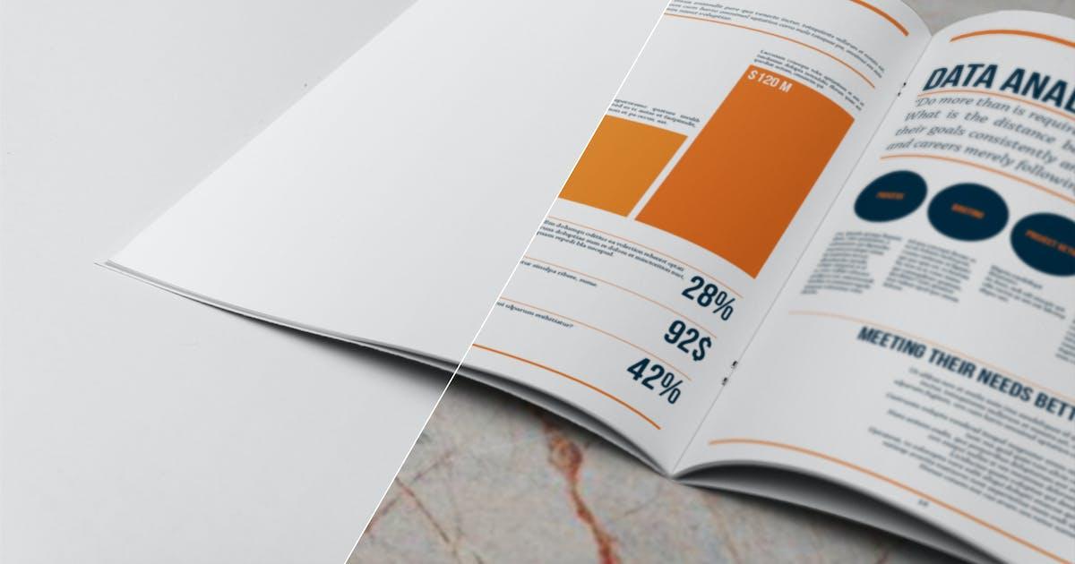 Download A4 Brochure Closeup Mockup by andre28