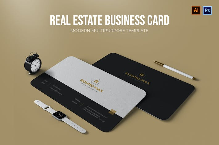 Thumbnail for Real Estate - Business Card