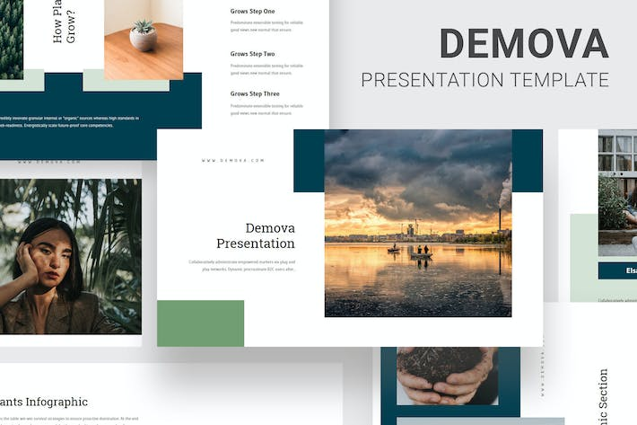 Thumbnail for Demova - Pollution Issues Keynote