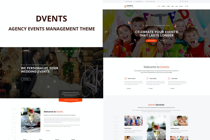Thumbnail for Dvents - Events Management Agentur Thema