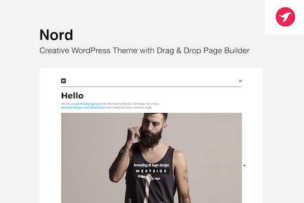 NORD - WordPress Theme with Focus on Content