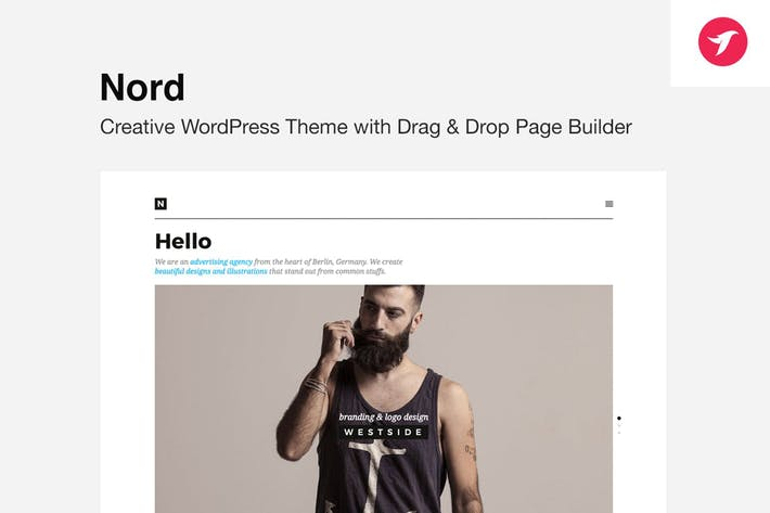 Thumbnail for NORD - WordPress Theme with Focus on Content