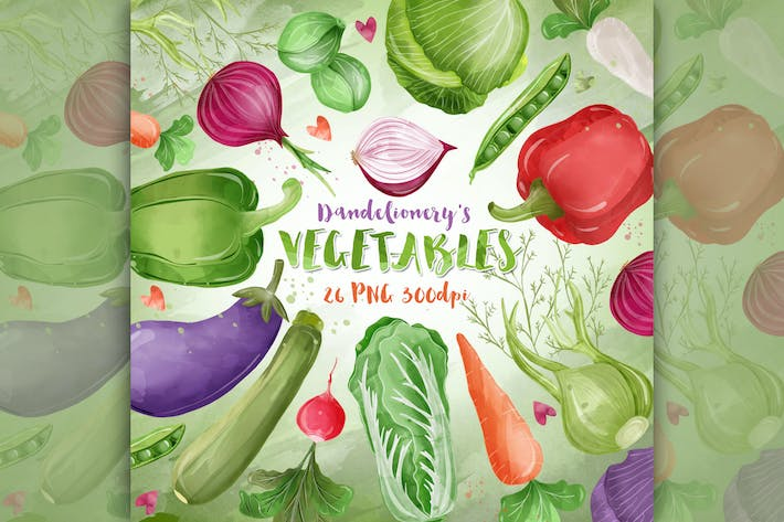 Thumbnail for Vegetable cliparts