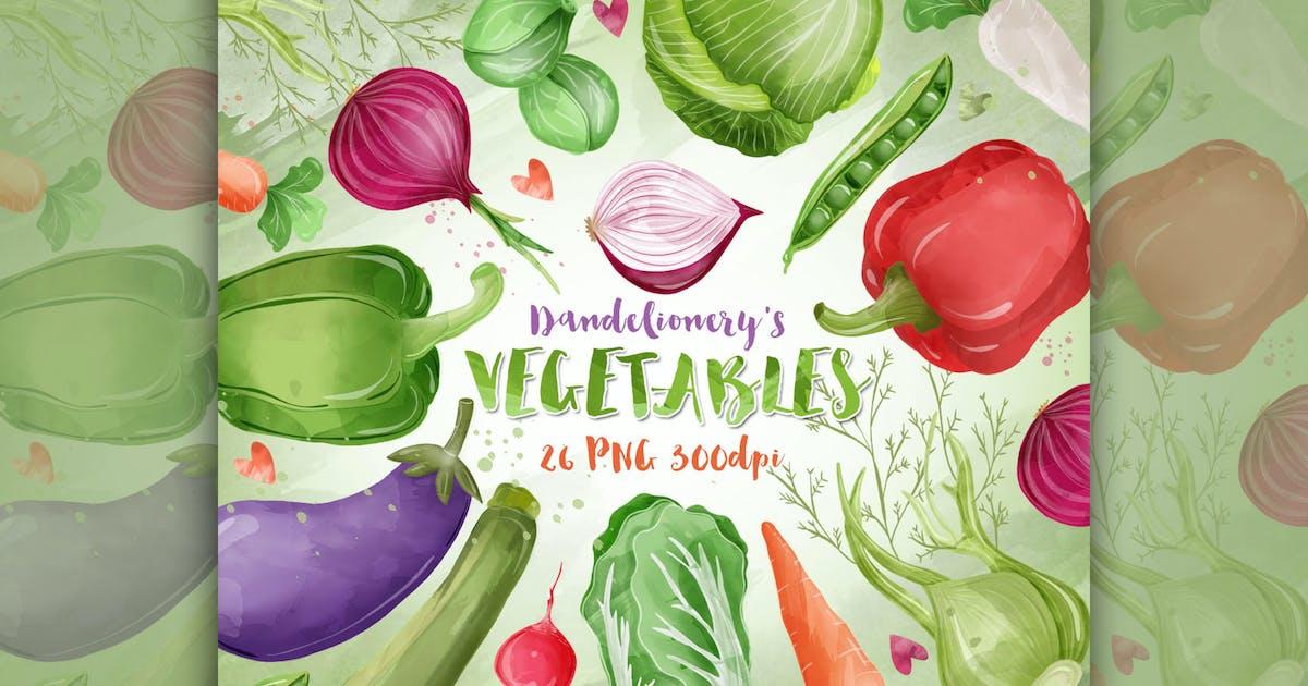 Download Vegetable cliparts by designloverstudio