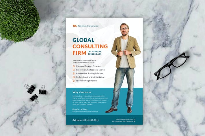 Thumbnail for Global Consulting Flyer