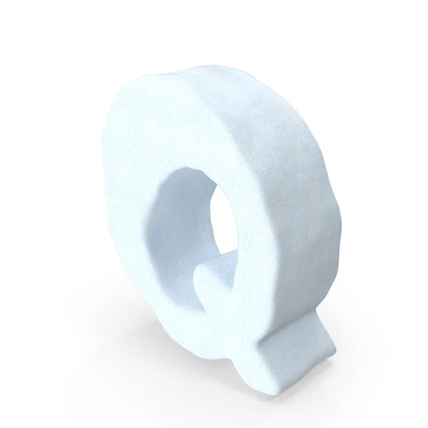 Snow Symbol Q