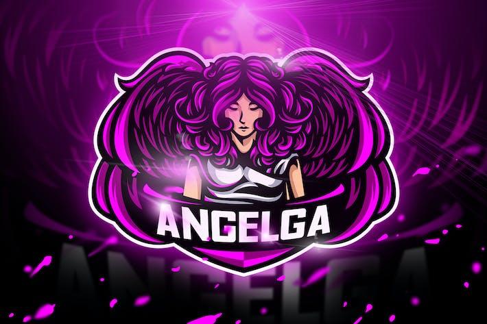 Thumbnail for Angelga - Mascot & Esport logo