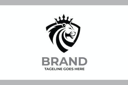 Luxury Lion King Logo Templates