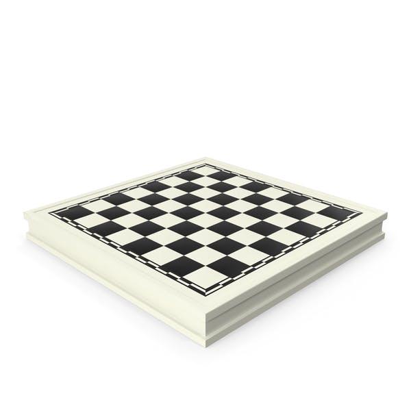 Белая шахматная доска