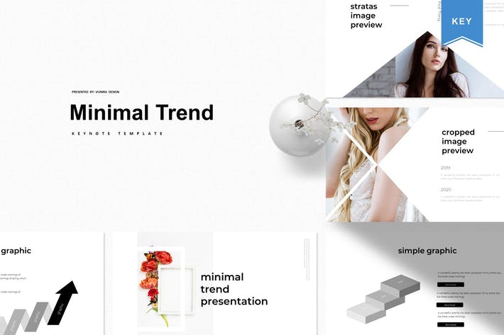 Thumbnail for Minimal Trend | Keynote Template