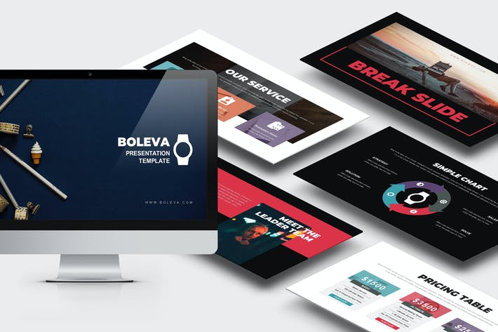 Thumbnail for Boleva : Photo Studio Powerpoint Template