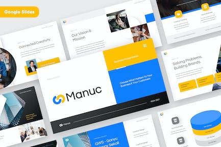MANUC - Modern Google Slides Template