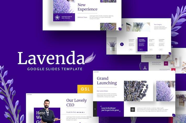 Thumbnail for Lavenda - Flower  Google Slides Template