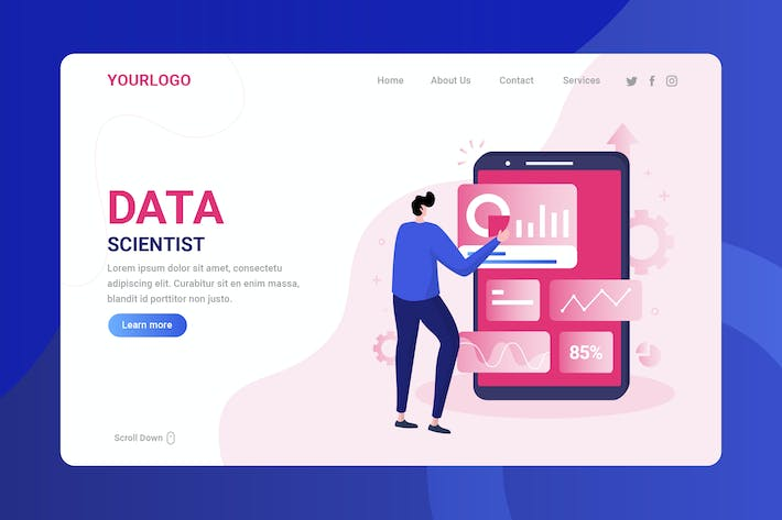Data Scientist - Landing Page