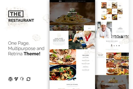 The Restaurant Restauranteur and Catering WP Theme