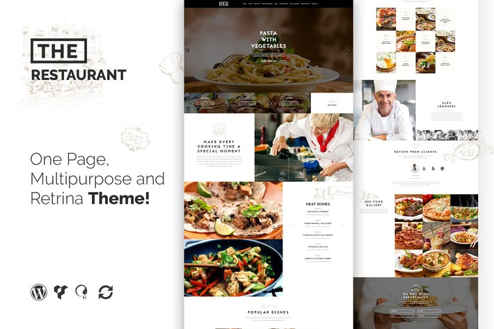Thumbnail for The Restaurant Restauranteur and Catering WP Theme