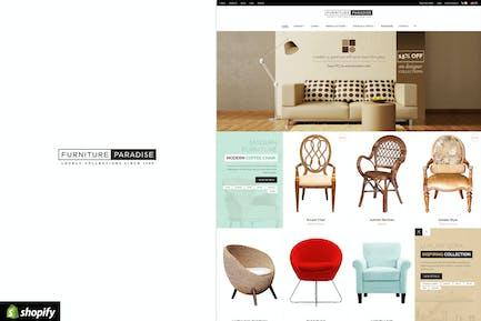 Mobiliario Paraíso - Responsivo Shopify Tema