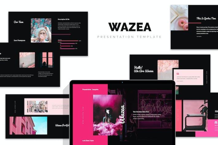 Thumbnail for Wazea : Pink Gradient Color Tone Google Slides