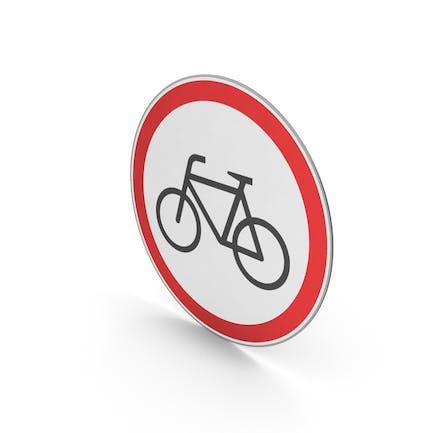 Дорожный знак без велосипедов
