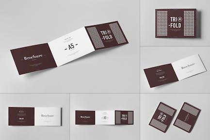 Tri-Fold A5 Horizontal Brochure 2