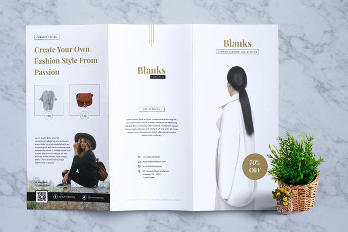 Thumbnail for BLANKS Fashion Flyer