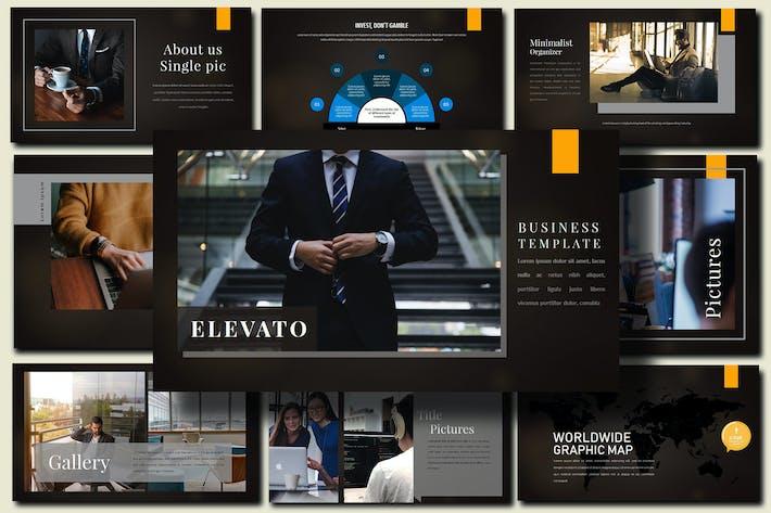 Thumbnail for Elevato Dark - Business Google Slides Presentation
