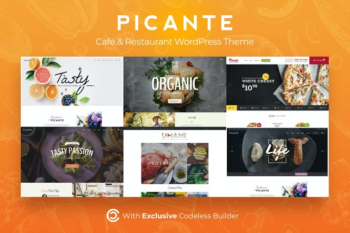Thumbnail for Picante | Restaurant WordPress Theme
