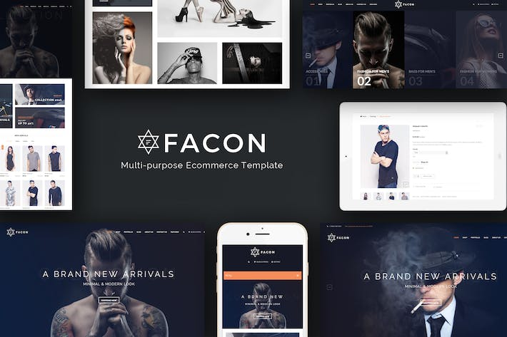 Thumbnail for Facon - Fashion Responsive Prestashop Theme