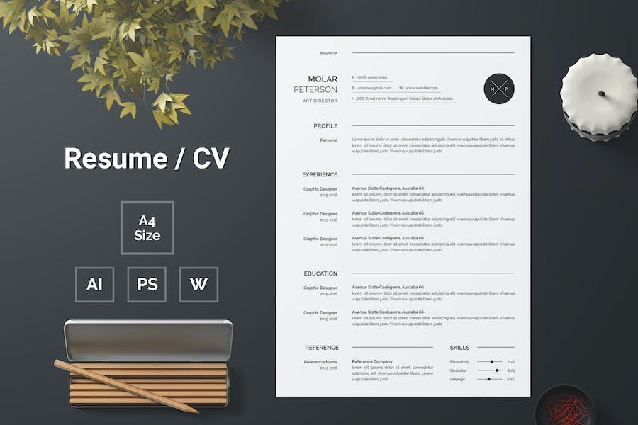 Resume Template 140