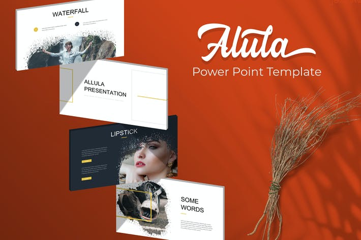 Thumbnail for Alula Brush - Powerpoint Template