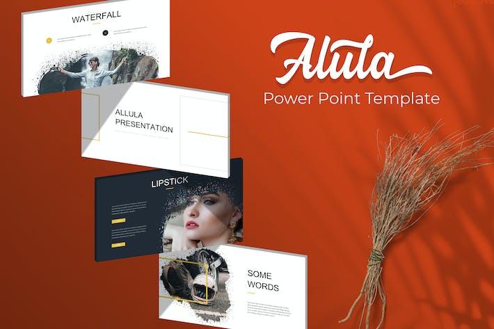 Thumbnail for Pincel Alula - Plantilla Powerpoint
