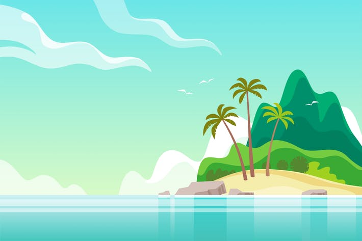 Thumbnail for Tropical Island