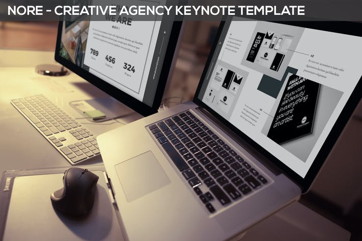 Thumbnail for Nore - Design Agency Keynote Template