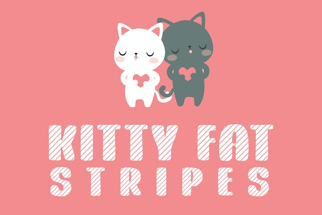 Kitty Fat - Stripes - product preview 0