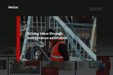 Neise - Building & Construction Google Slides