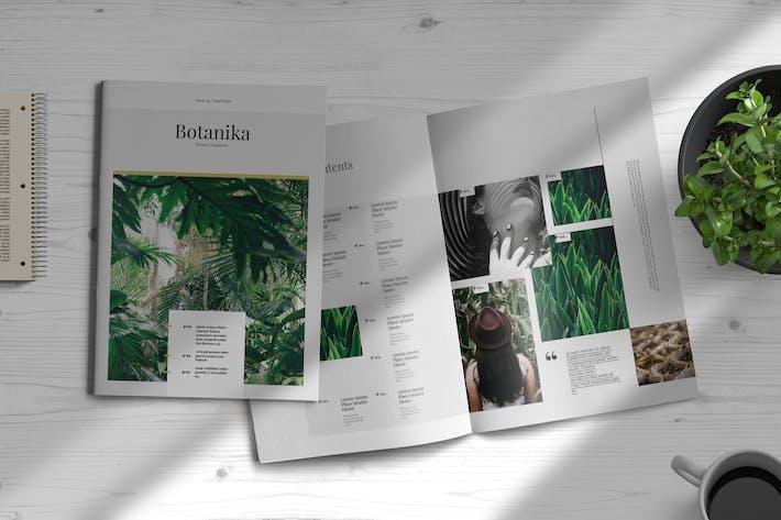 Thumbnail for Botanika | Magazine Template