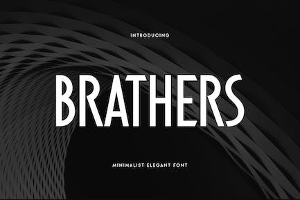 BRATHERS - Minimalist Elegant Font