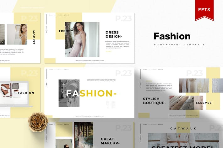 Fashion | Powerpoint Template