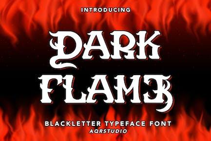 Dark Flame - Blackletter Font