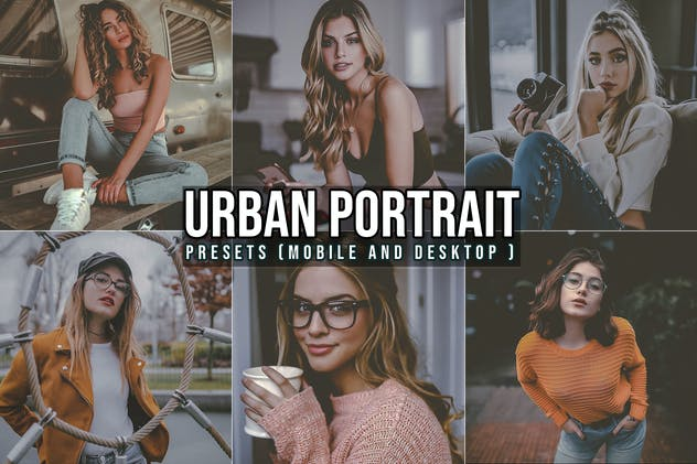 Urban Portrait Lightroom Presets