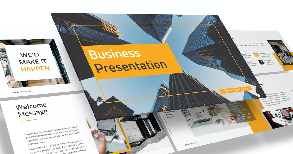 Download Bizajalah - Business Powerpoint Template by Unknow